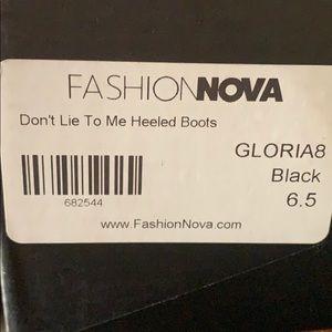 Fashion Nova Shoes - Mid Calf Boots